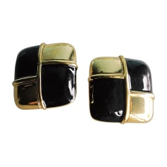 Earrings GIVENCHY Golden, bronze, copper
