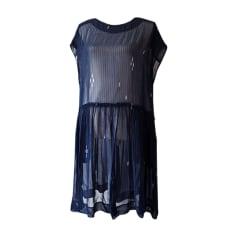 Robe tunique ISABEL MARANT ETOILE Bleu, bleu marine, bleu turquoise