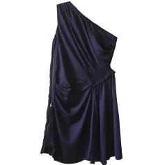 Robe courte IRO Bleu, bleu marine, bleu turquoise
