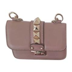 Leather Shoulder Bag VALENTINO Pink, fuchsia, light pink