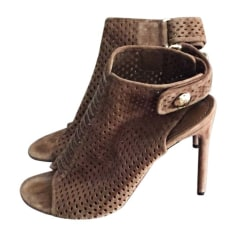 Heeled Sandals LOUIS VUITTON Beige, camel