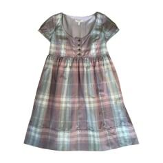 Mini-Kleid BURBERRY Violett, malvenfarben, lavendelfarben