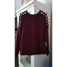Top, tee-shirt AMISU Rouge, bordeaux