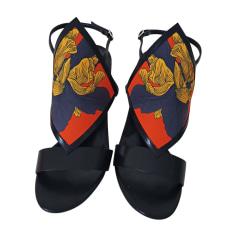 Sandali con tacchi HERMÈS Nero