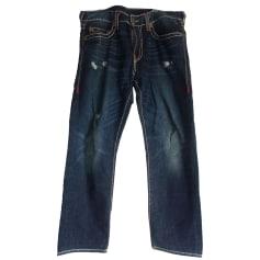 Straight-Cut Jeans  TRUE RELIGION Blau, marineblau, türkisblau