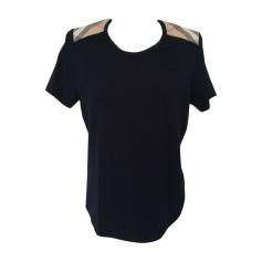 Top, t-shirt BURBERRY Blu, blu navy, turchese