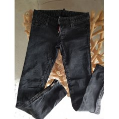 Jeans slim DSQUARED Noir