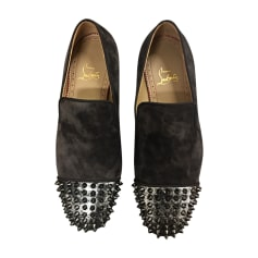 Loafers CHRISTIAN LOUBOUTIN Green