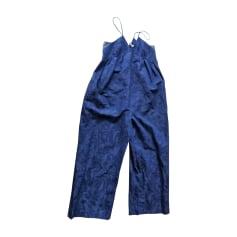 Jumpsuit KENZO Blue, navy, turquoise