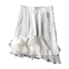 Mini Skirt ISABEL MARANT White, off-white, ecru