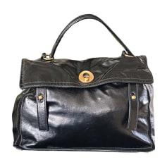 Leather Oversize Bag YVES SAINT LAURENT Black