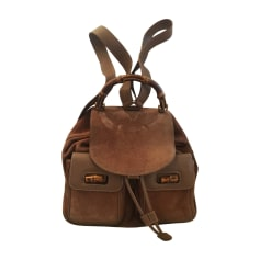 Backpack GUCCI Bambou Brown