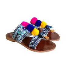 Sandales plates  ANTIK BATIK Multicouleur