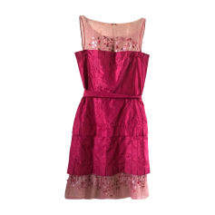 Mini Dress CHANEL Pink, fuchsia, light pink