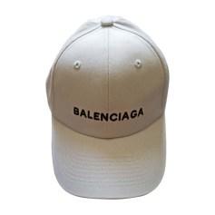 Cap BALENCIAGA White, off-white, ecru