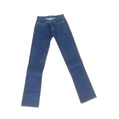 Jeans droit A.P.C. Bleu, bleu marine, bleu turquoise