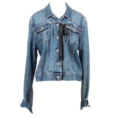 Zipped Jacket DKNY Blue, navy, turquoise
