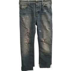 Straight Leg Jeans ARMANI JEANS Blue, navy, turquoise