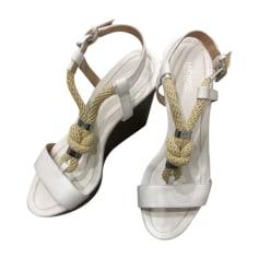 Sandali con zeppa MICHAEL KORS Bianco, bianco sporco, ecru