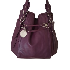 Livraison Gratuite Meilleurs Prix Sac à main en cuir LAMARTHE cuir irisé violet Le Plus Grand Fournisseur 70CoQy8FD