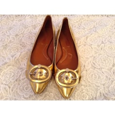Ballet Flats BCBG MAX AZRIA Golden, bronze, copper