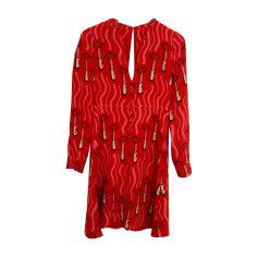 Midi Dress VALENTINO Red, burgundy