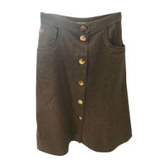Midi Skirt GIVENCHY Brown