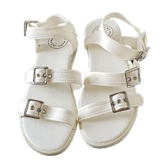 Flat Sandals MARC JACOBS White, off-white, ecru