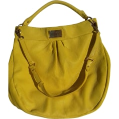Leather Shoulder Bag MARC JACOBS Yellow