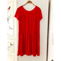 Mini Dress DES PETITS HAUTS Red, burgundy