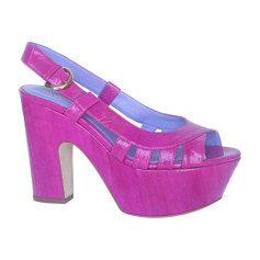 Heeled Sandals SERGIO ROSSI Pink, fuchsia, light pink