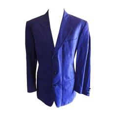 Veste YVES SAINT LAURENT Bleu, bleu marine, bleu turquoise