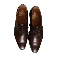 Chaussures à lacets CROCKETT & JONES Marron