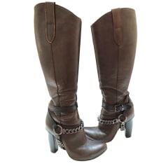 High Heel Boots GIANMARCO LORENZI Brown