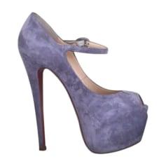 Peeptoes CHRISTIAN LOUBOUTIN Violett, malvenfarben, lavendelfarben
