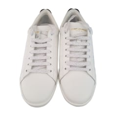 Sneakers YVES SAINT LAURENT White, off-white, ecru