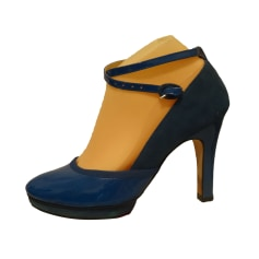 Wedges REPETTO Blue, navy, turquoise