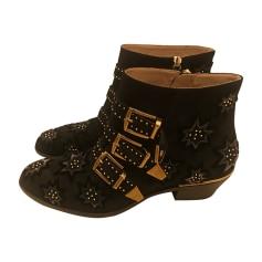 Bottines & low boots à talons CHLOÉ Susanna Noir
