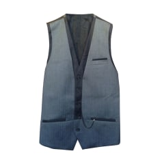 Gilet de costume THE KOOPLES Gris, anthracite