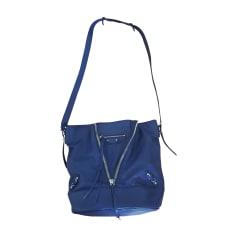 Leather Handbag BALENCIAGA Blue, navy, turquoise