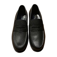 Loafers LOUIS VUITTON Gray, charcoal