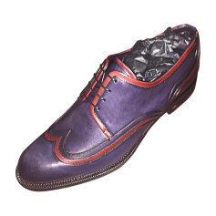 Chaussures à lacets LOUIS VUITTON Bleu, bleu marine, bleu turquoise