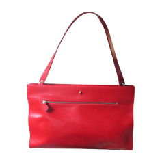 Leather Shoulder Bag JEAN PAUL GAULTIER Red, burgundy