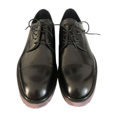 Lace Up Shoes LOUIS VUITTON Black