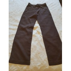 3a76f720a2d9 Pantalons Caroll Femme Lin   articles tendance - Videdressing