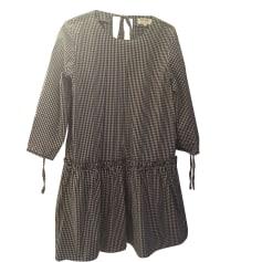 Robe courte BALZAC PARIS Vichy noir