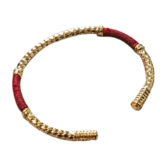 Bracelet AURELIE BIDERMANN Rouge, bordeaux