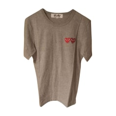 Tee-shirt COMME DES GARCONS Gris, anthracite