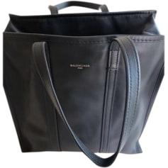 Leather Oversize Bag BALENCIAGA Black