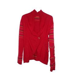 Gilet, cardigan CHACOK Rouge, bordeaux